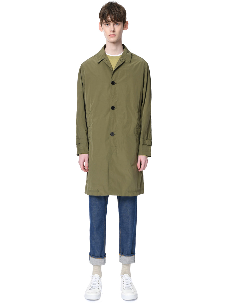 그레이휴Windproof Mac Coat, Khaki