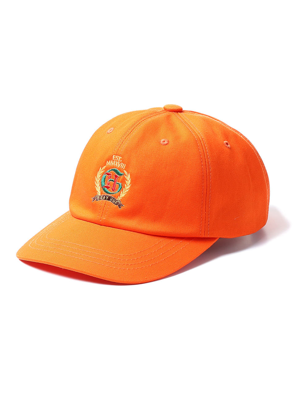 그레이휴CREST LOGO BALL CAP orange