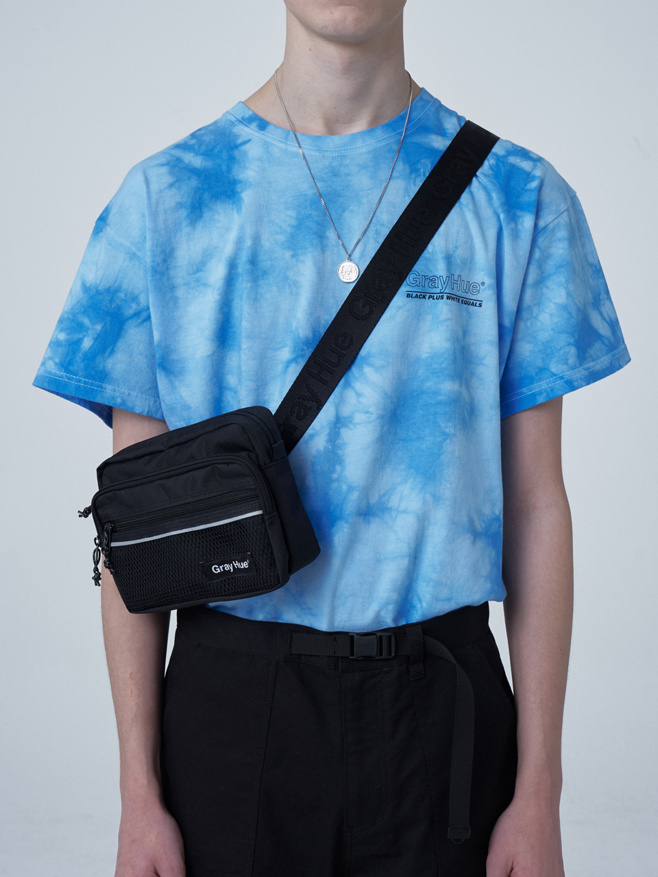 그레이휴RECTANGLE WAIST BAG black