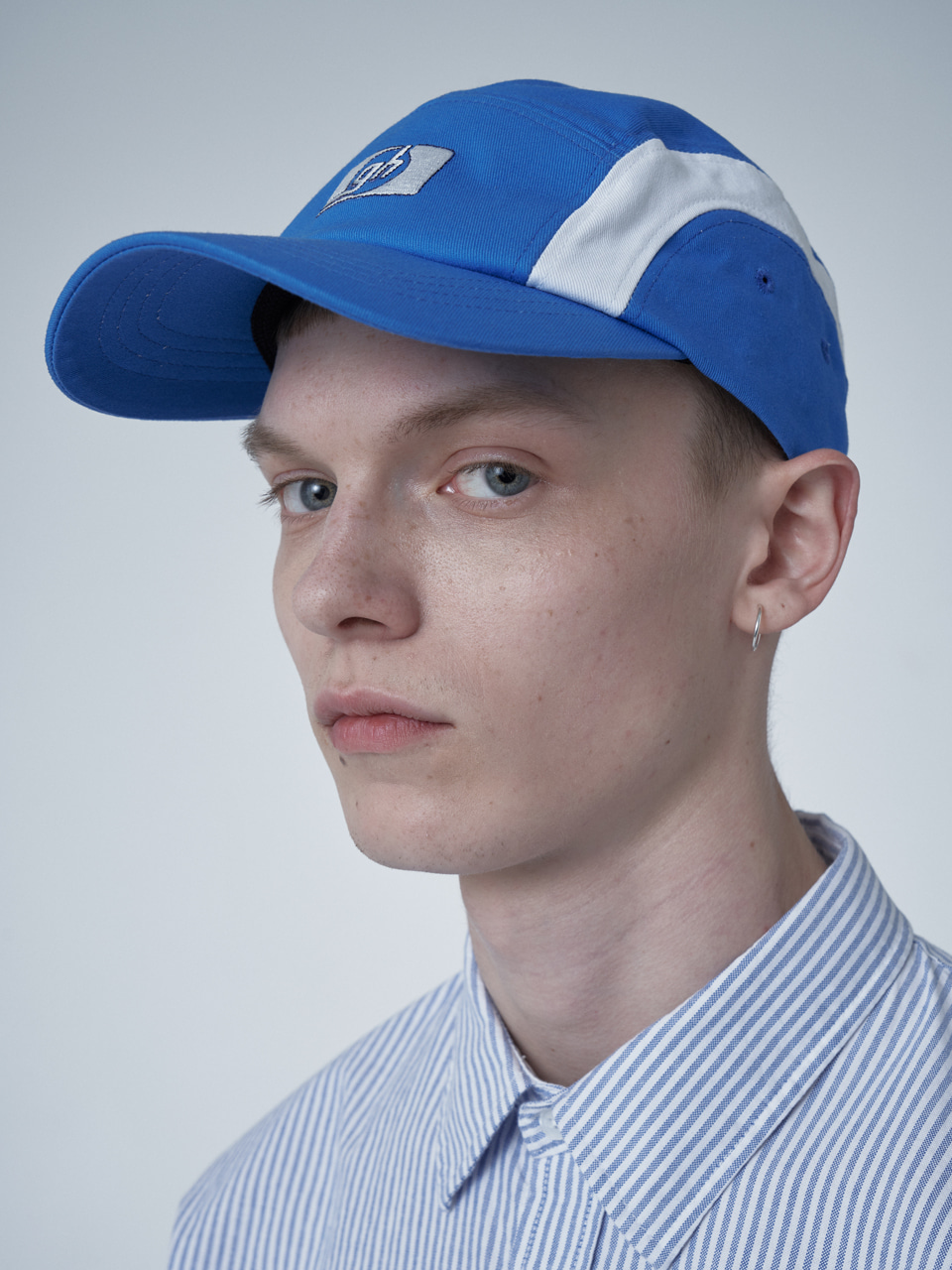 그레이휴gh LOGO CAMP CAP medium blue