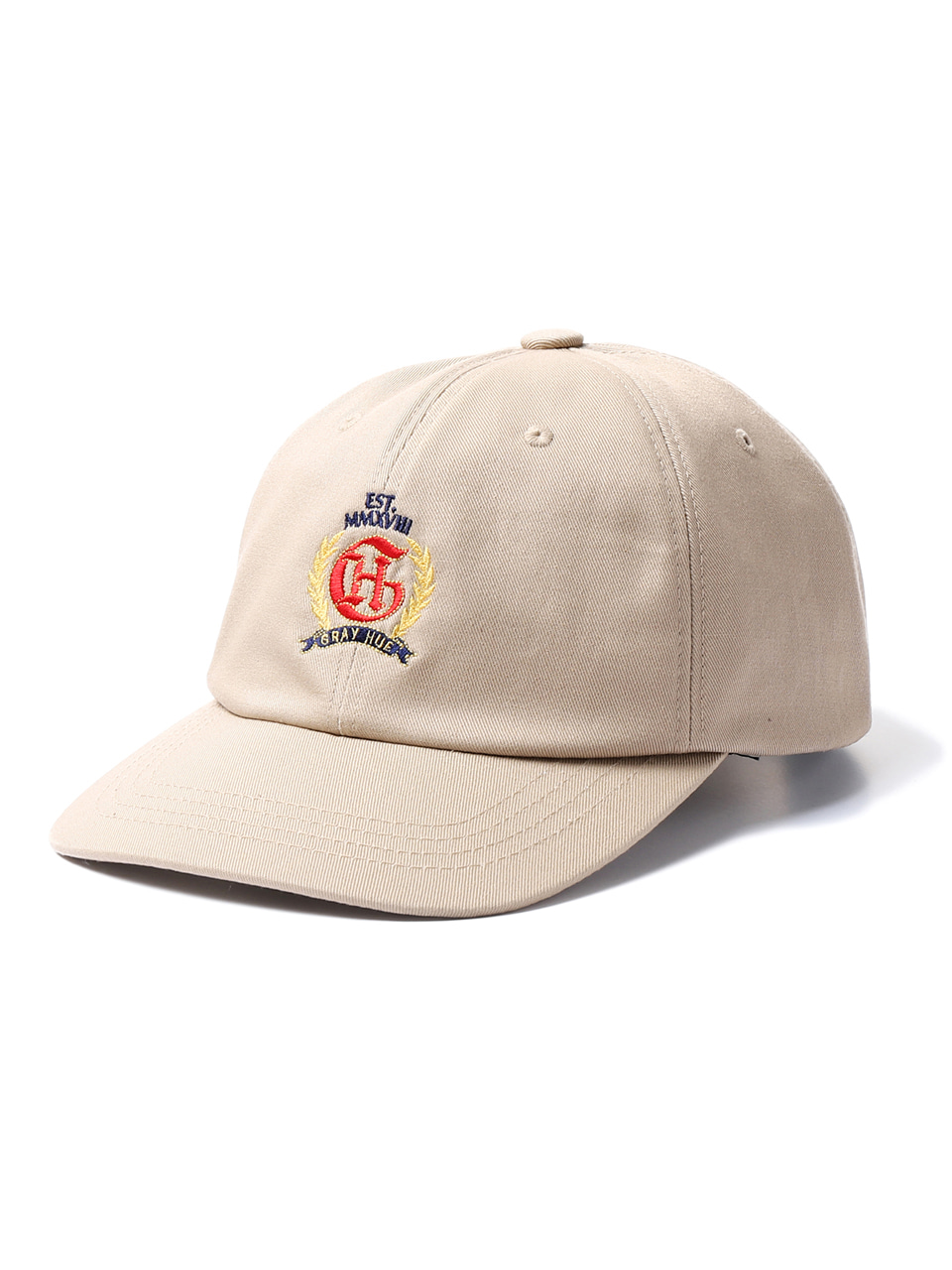 그레이휴CREST LOGO BALL CAP medium beige