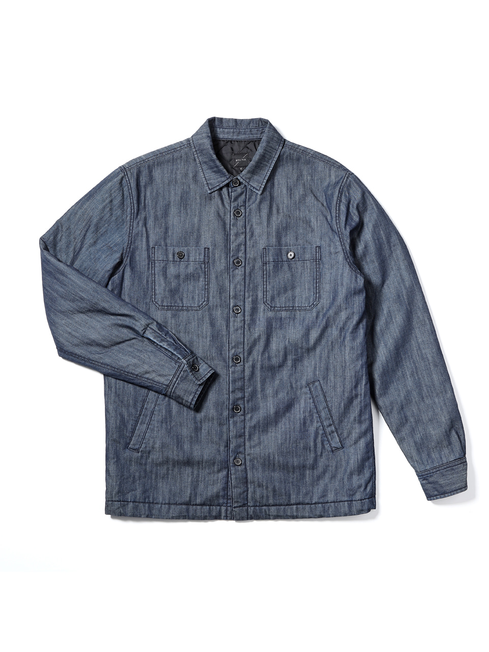 그레이휴Denim Over Shirt, Navy