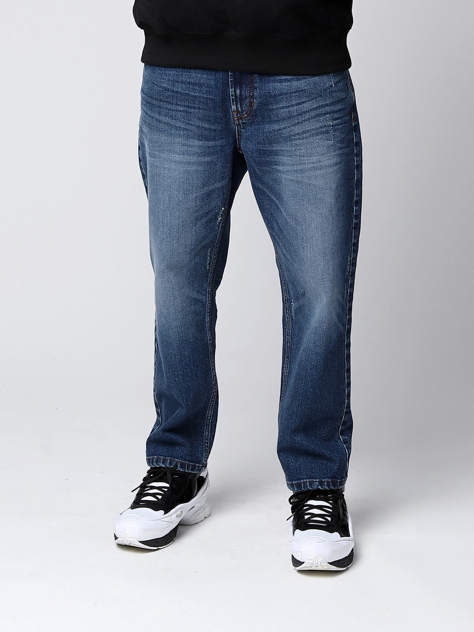 그레이휴Kuroki Loose Fit Denim, Blue