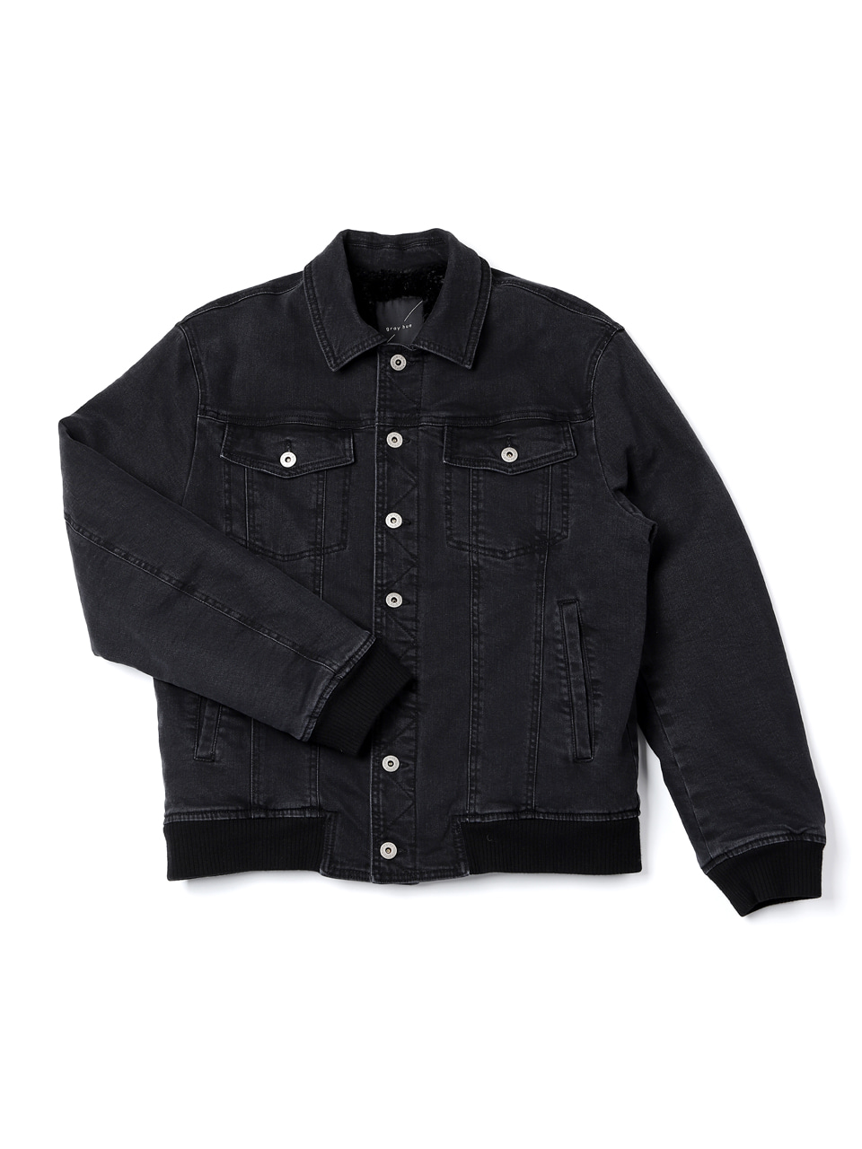 그레이휴Heavy Denim Jacket, Black