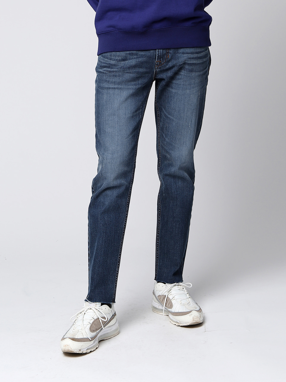 그레이휴Calik Slim Fit Denim, Blue