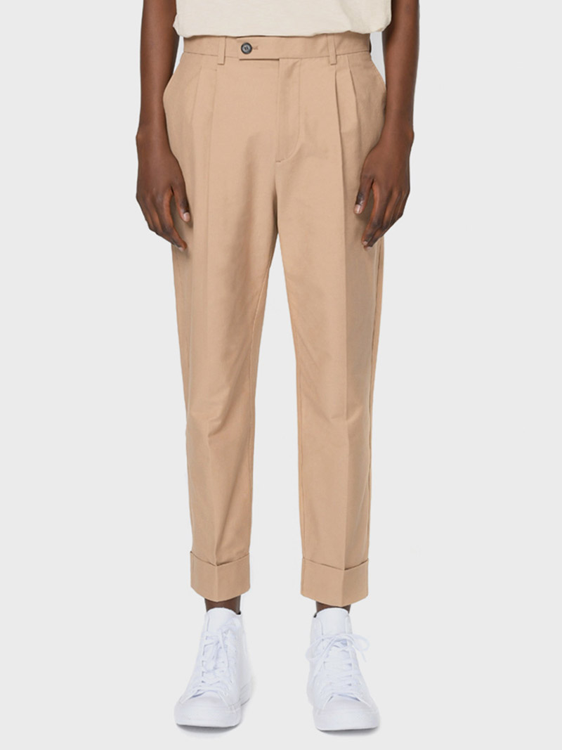 그레이휴TURNUP TROUSERS, Beige